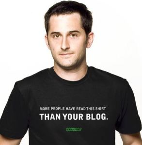 More people have read this t-shirt than your blog