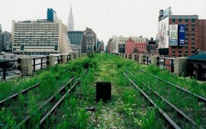 The High Line Park, New York City
