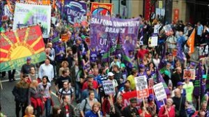 TUC March Manchester October 2011