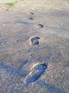 Concrete footprints